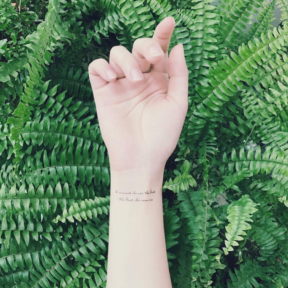 ◭◭ 森小姐的獨賣花草系紋身貼紙 ◭◭